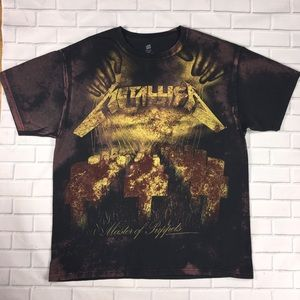 Metallica Master Of Puppets Mens Sz XL Tee Shirt